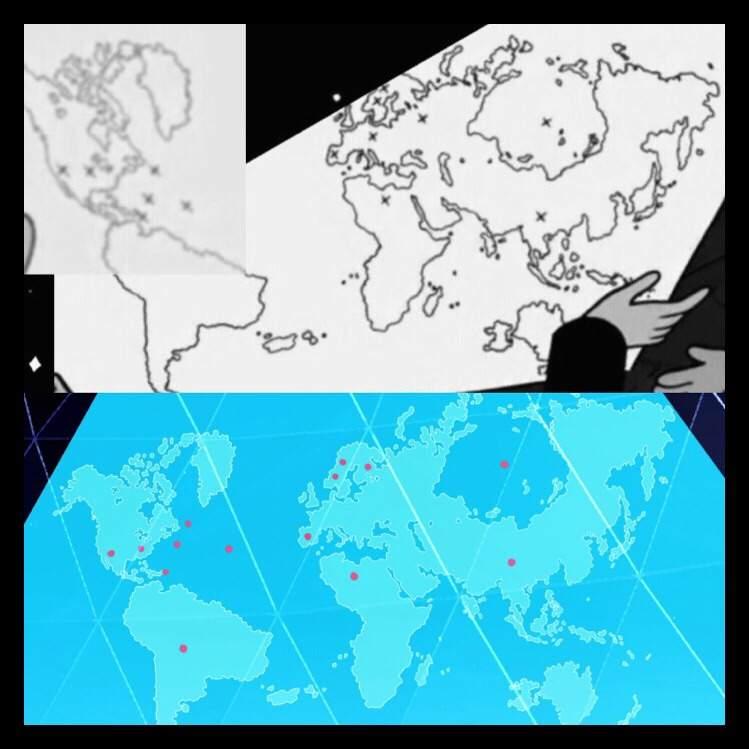 Gem Mega Map Steven Universe Amino