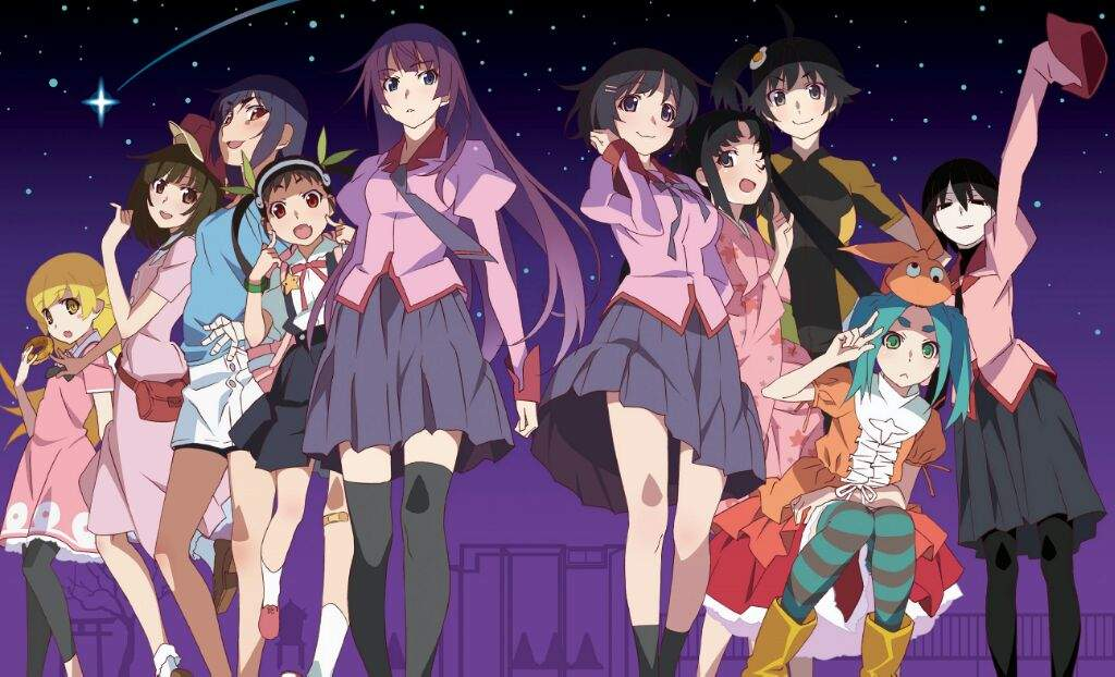 Resultado de imagen para Monogatari anime