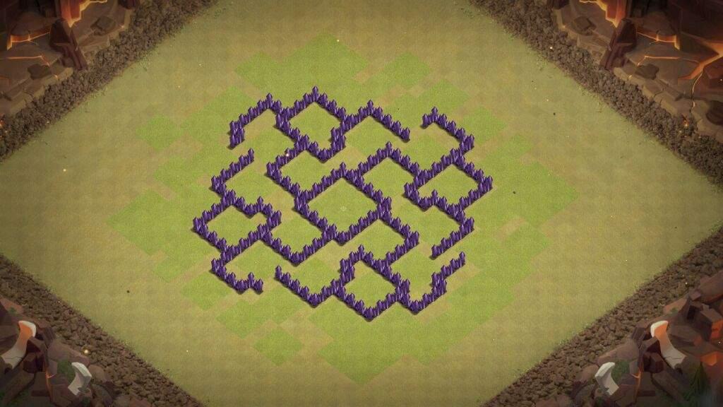 layout de guerra cv7 clash of clans pt br amino