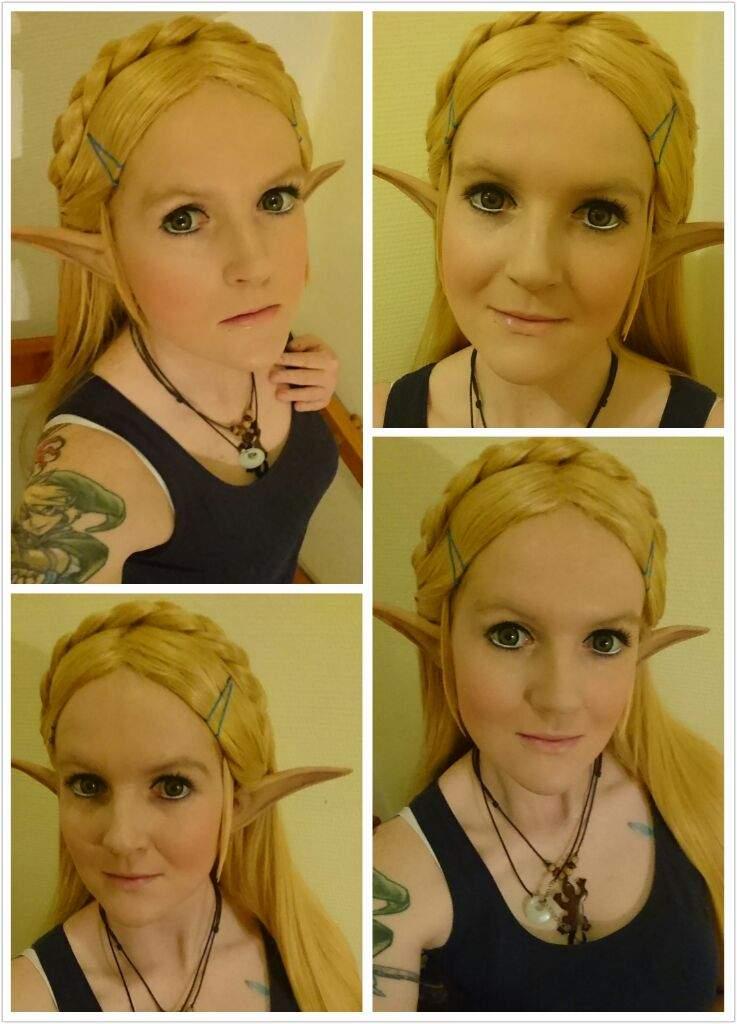 ✂ Zelda - Breath of the Wild - Wig/Make-up