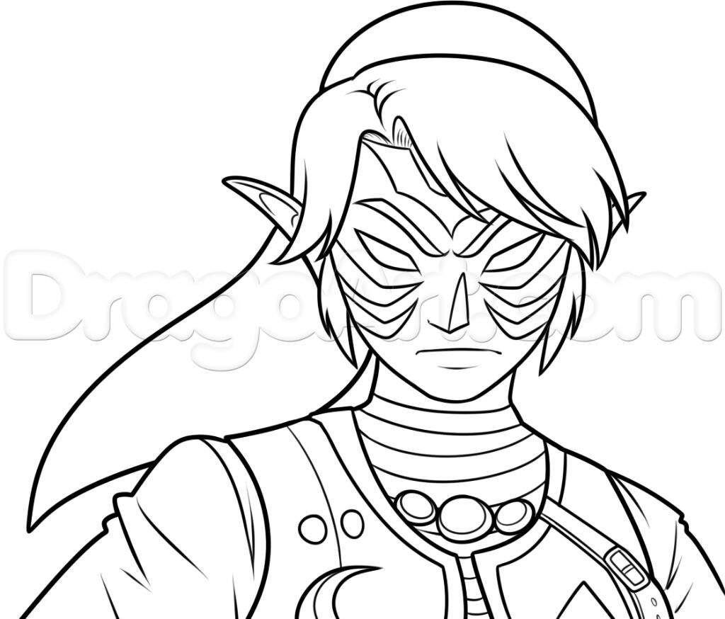 ∆ ¡COMO DIBUJAR LA FIERA DEIDAD¡ ∆ | Zelda Amino En Español Amino