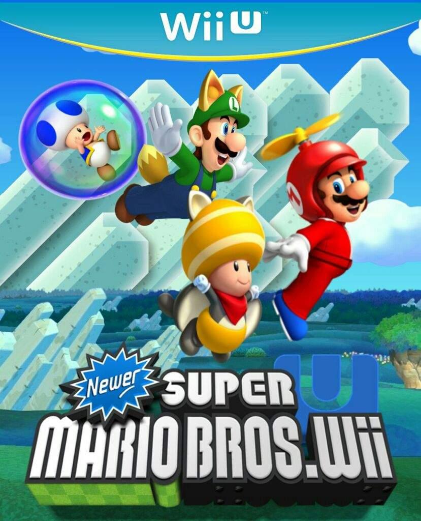 Newer Supermariobros U Boxart Nintendo Amino