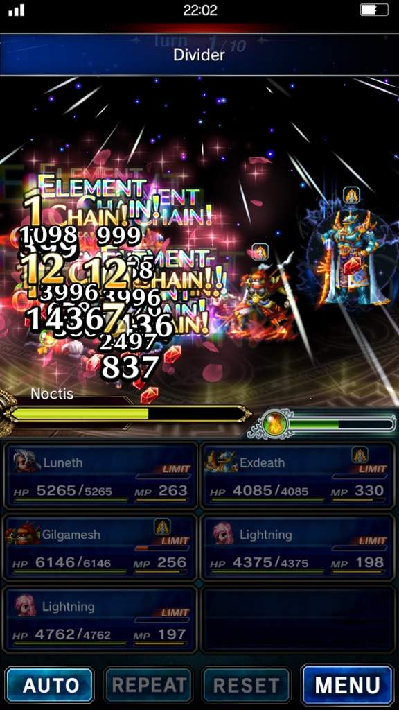 FFBE: When your arena setup gets too flashy | Final Fantasy