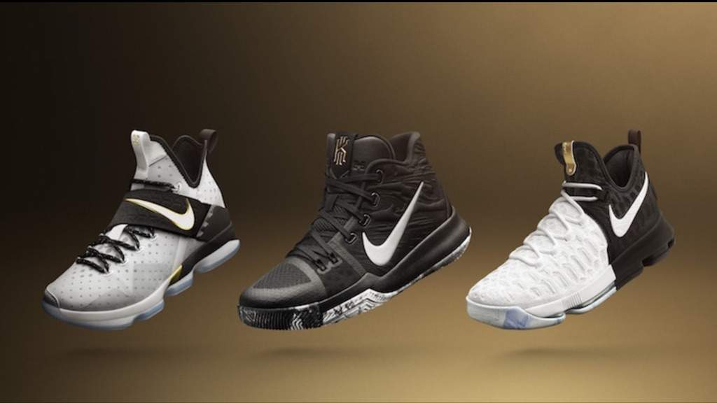 461eac162e8 ... low price the nike lebron 14 nike kyrie 3 and the nike kd 9 come dressed
