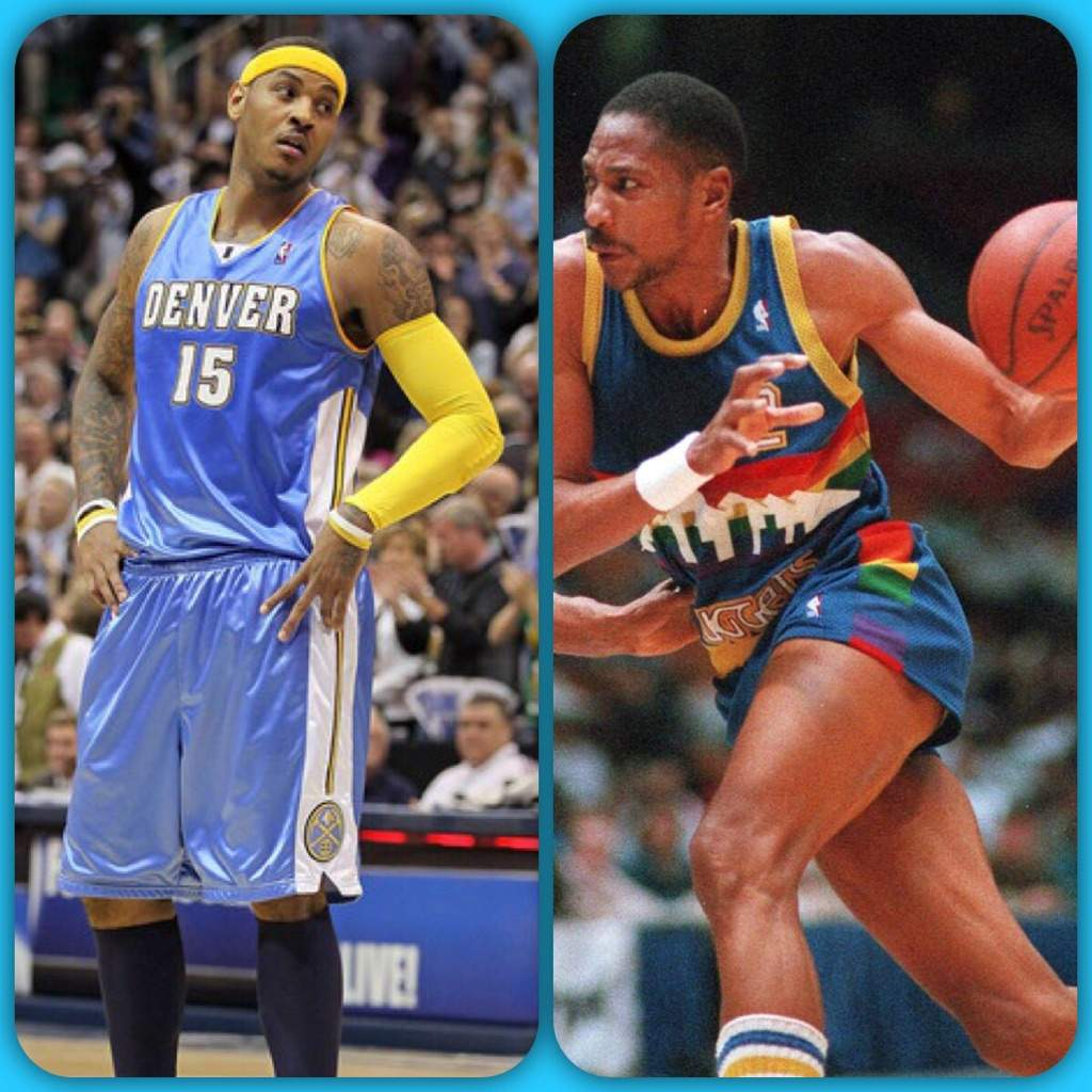Battle The Eras Alex English vs Carmelo Anthony