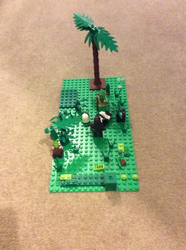 Lego Moc Battle Of Kashyyyk Star Wars Amino