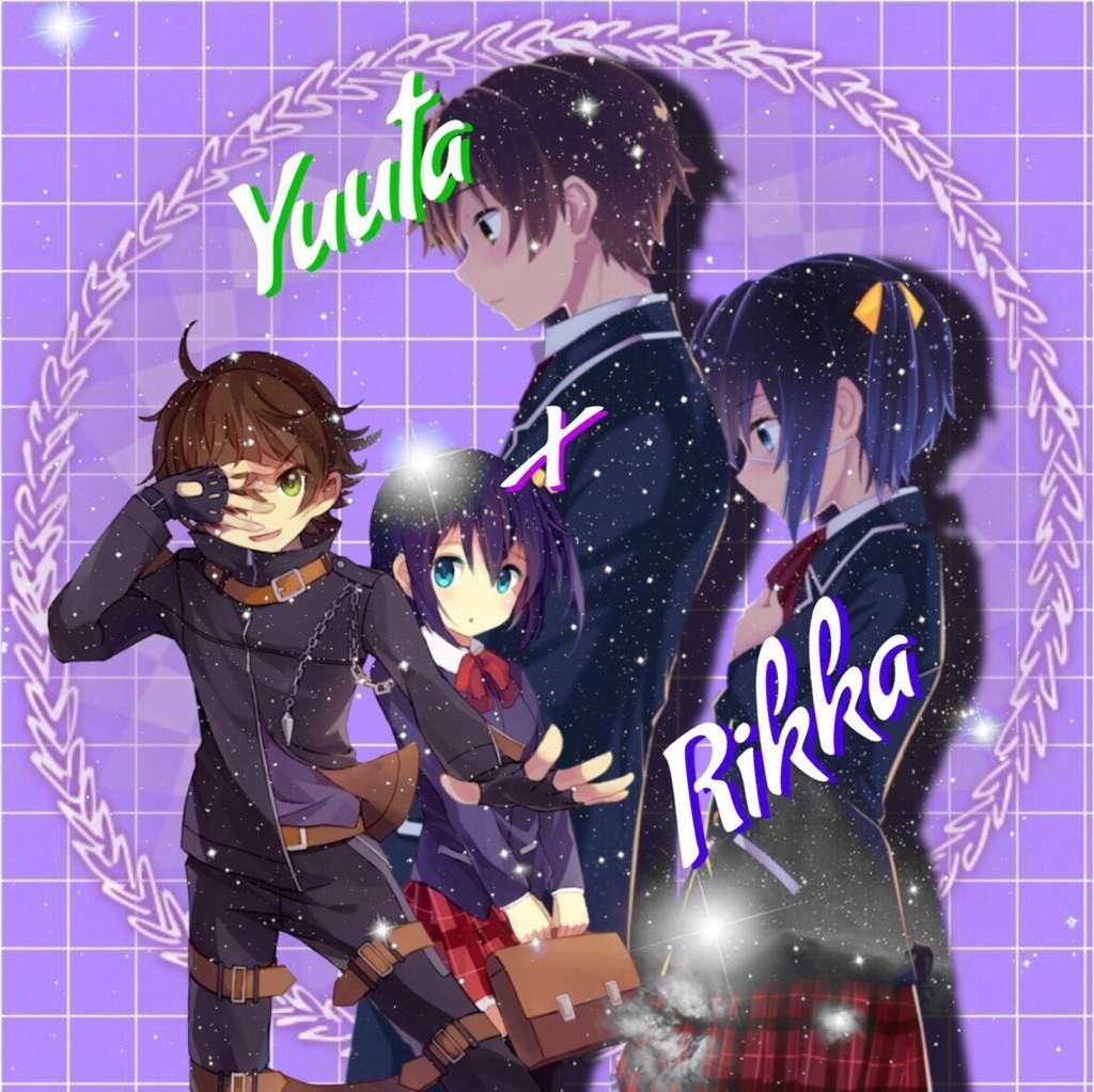 Rikka And Yuuta Pfp Set Editing Designing Amino