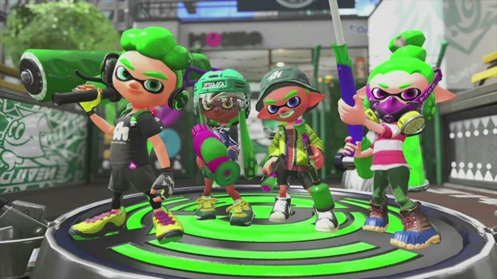 Splatoon Green Team Wiki Splatoon Amino