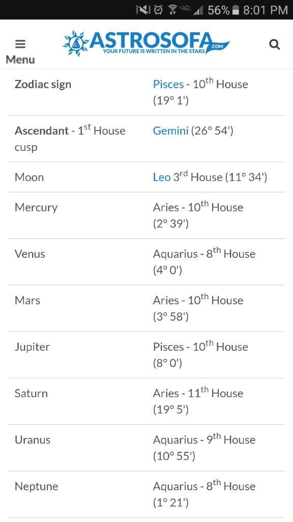 Can some explain what these mean? | Zodiac Amino