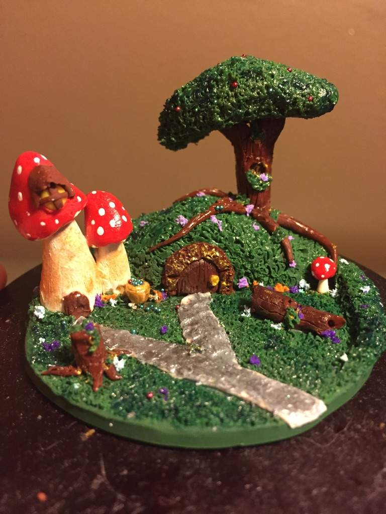 Polymer Clay Christmas Village.Polymer Clay Village Crafty Amino