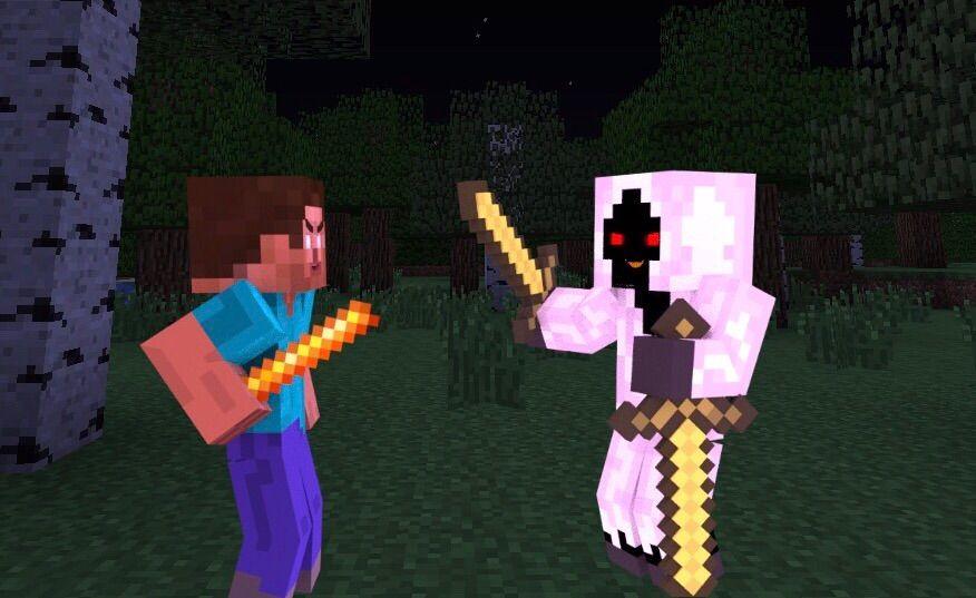 Herobrine Vs Entity 303 Minecraft Amino