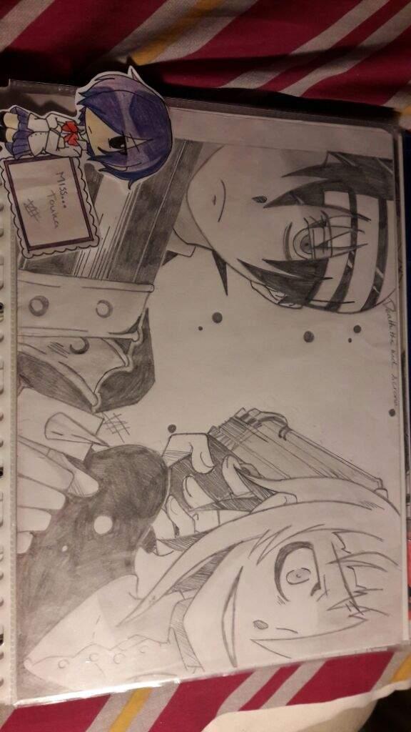 Drawing Death The Kid And Crona Anime Amino