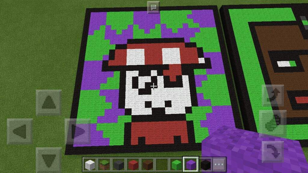 Curatorreview Humanoid Mario Mushroom Pixel Art Minecraft