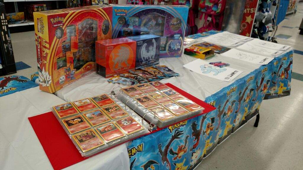 Today We Had Our Pokemon Event At Toys R Us To Celebrate The New Sun And Moon Set