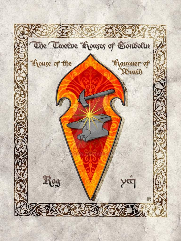 The House Of Hammer emblems and heraldry: the house of the hammer of wrath