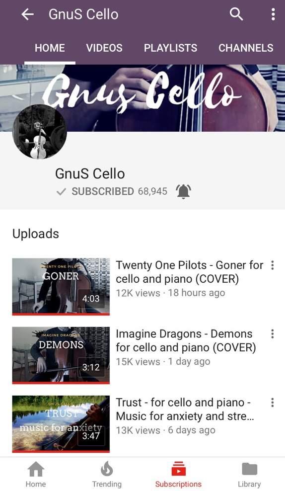 Piano/Cello Tøp covers | Clique Amino