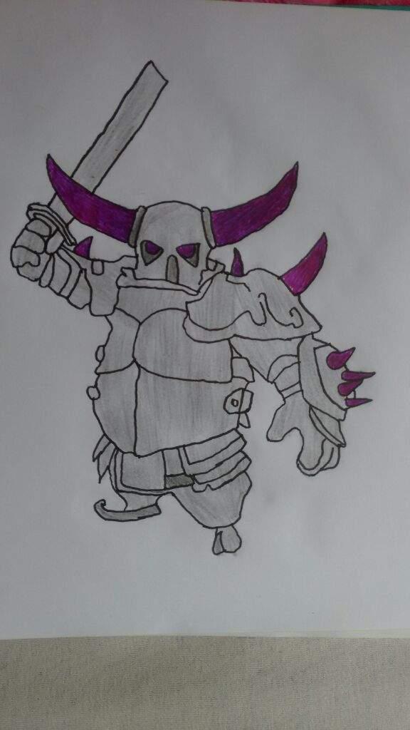 Desenho Da Pekka Clash Royale Amino Oficial Amino