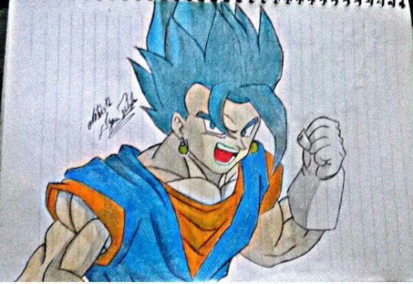 Curatorewien Vegetto Dragon Ball Super Drawing Dragonballz Amino