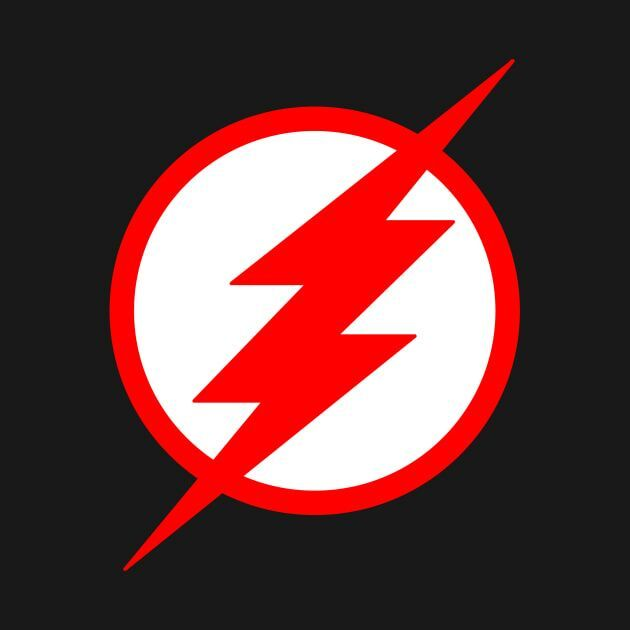 black flash symbol the flash amino. Black Bedroom Furniture Sets. Home Design Ideas