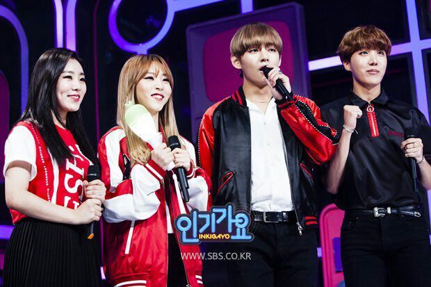 Petition For MAMAMOO And BTS As Guest In Running Man
