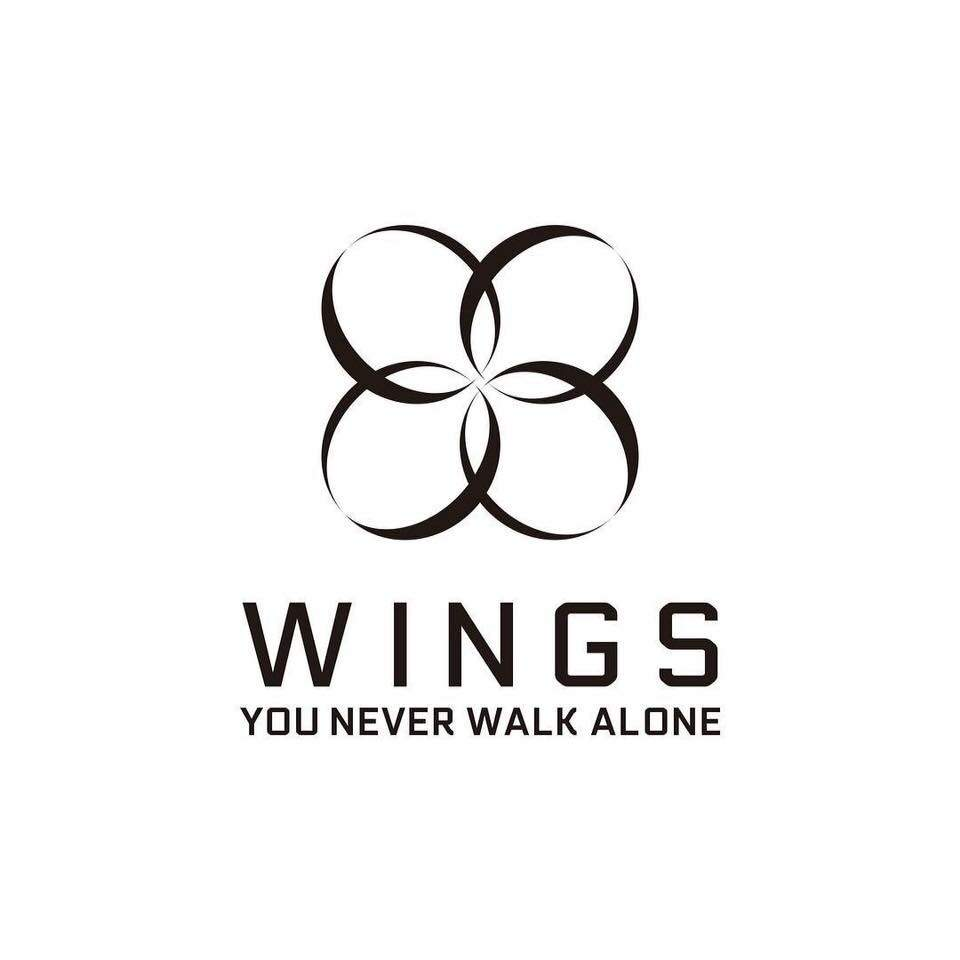 logo wings bts awesome graphic library