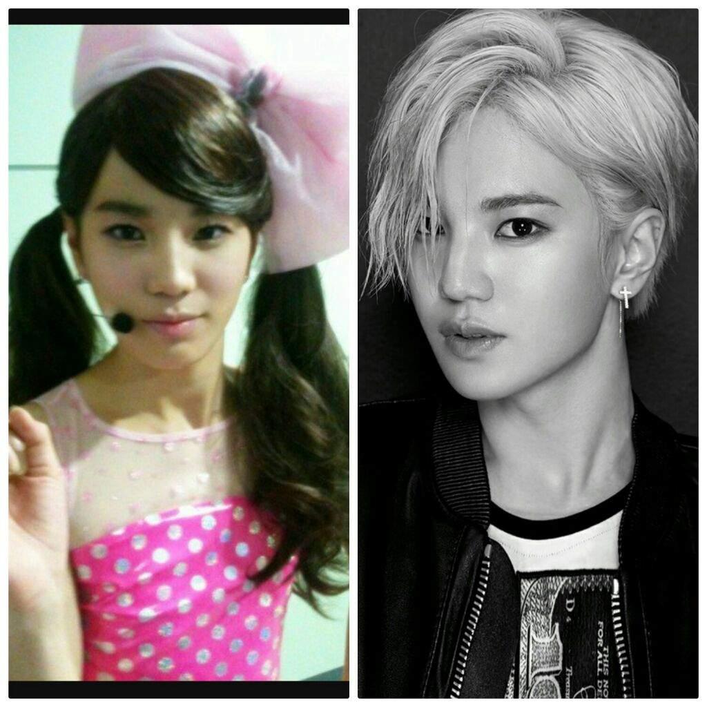 Idols kpop vestidos de mujer