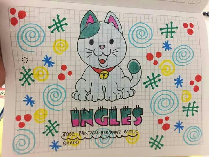 Caratulas Color Cuadernos Escolares Infantiles Dibujos Para 2: Marcar Cuadernos Dibujos T Marcar Cuadernos