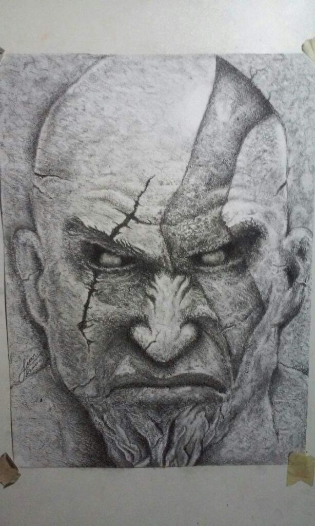Kratos God Of War Arte Amino Amino