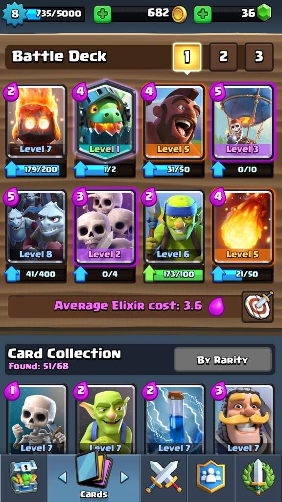 best deck ever for arena 7 clash royale amino