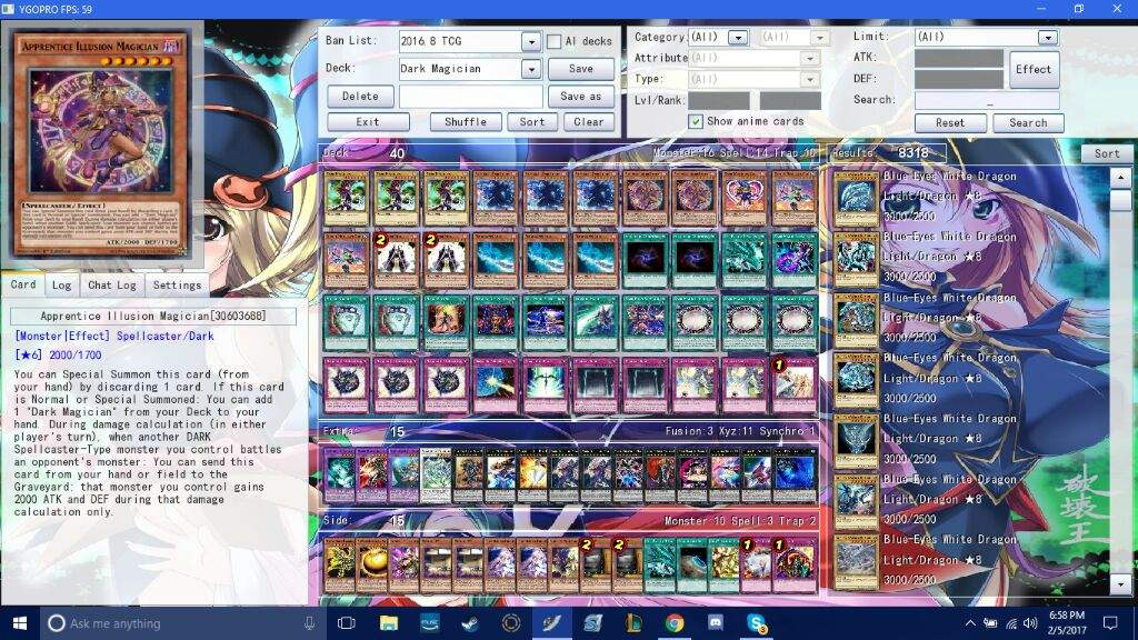Frosty's 2017 Dark Magician IRL & OCG Deck profile   Duel Amino