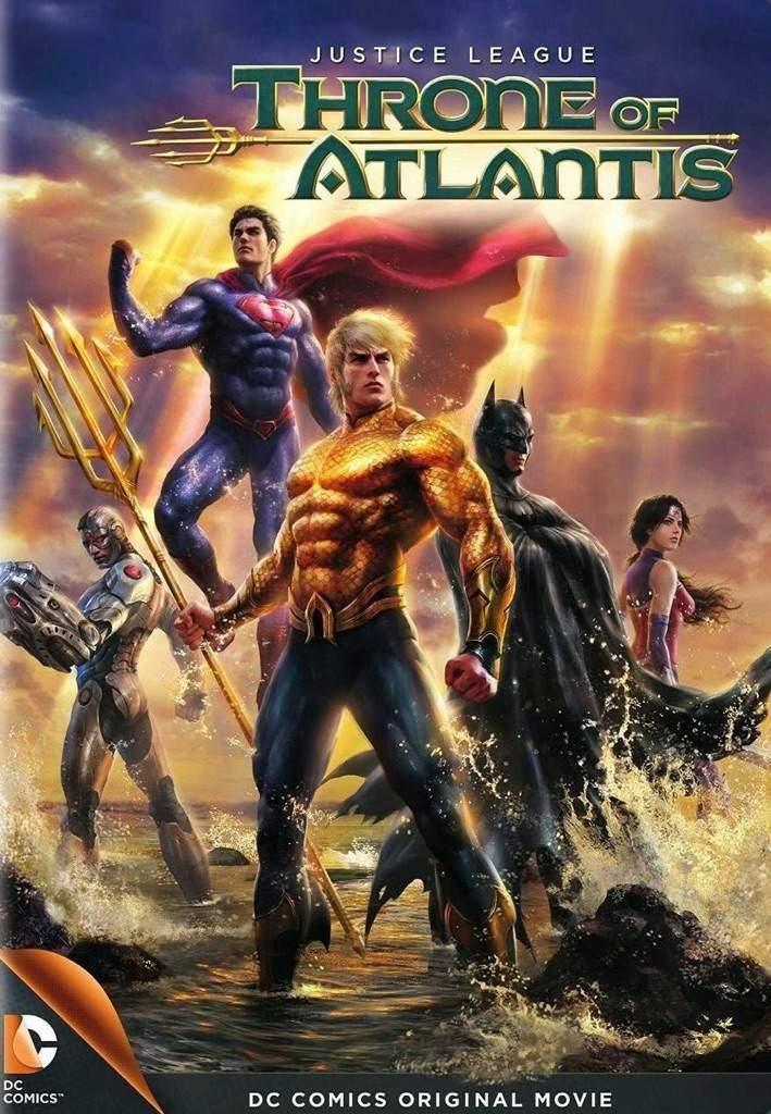 justice league trono de atlántis