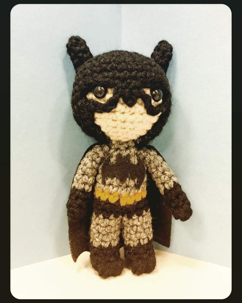Batman Crochet amigurumi - YouTube   1024x819