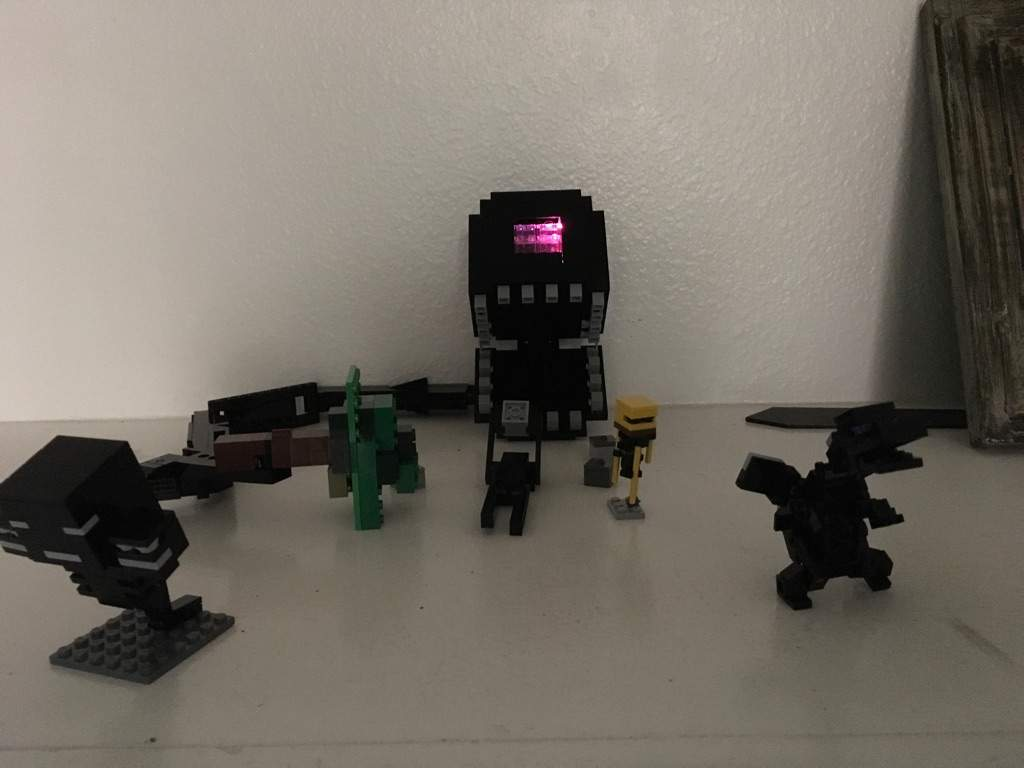 The Wither Storm Head Lego Amino