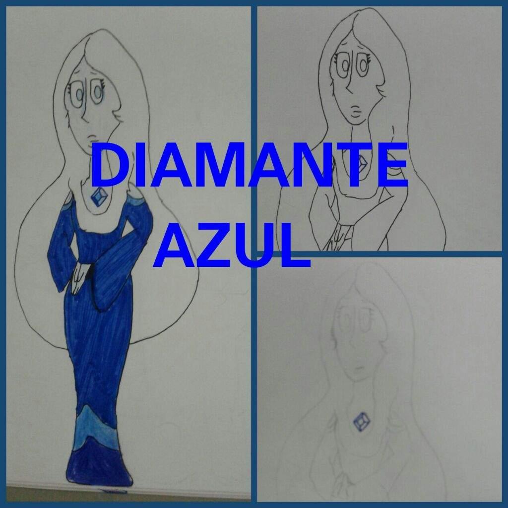 Dibujo de Diamante azul | Steven Universe Español Amino