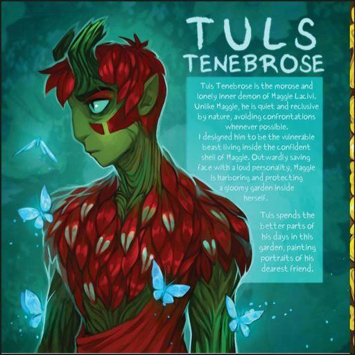 Tuls Tenebrose | Wiki | Ava's Demon (Webcomic) Amino