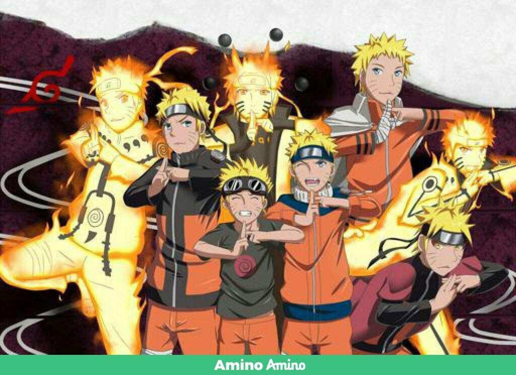 all stages of naruto anime amino