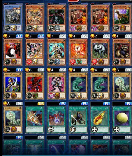 Beast Warrior Deck Yu Gi Oh Duel Links Amino
