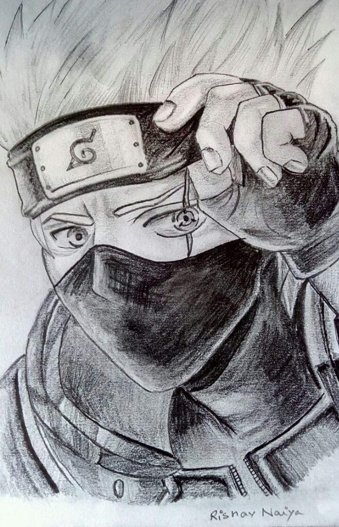 kakashi sketches - 659×1024