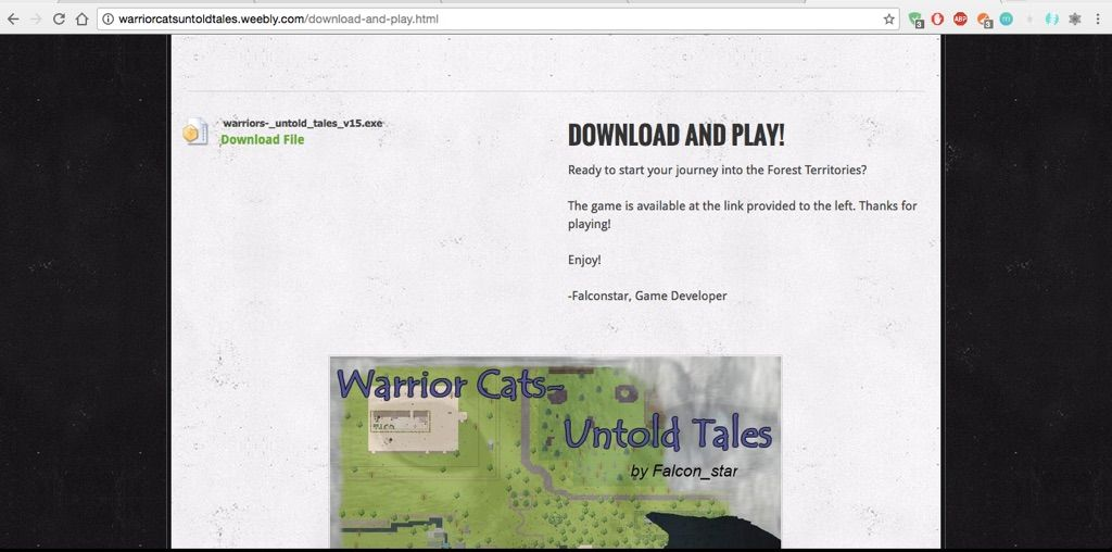 How to download Warriors- The Untold Tales on a mac