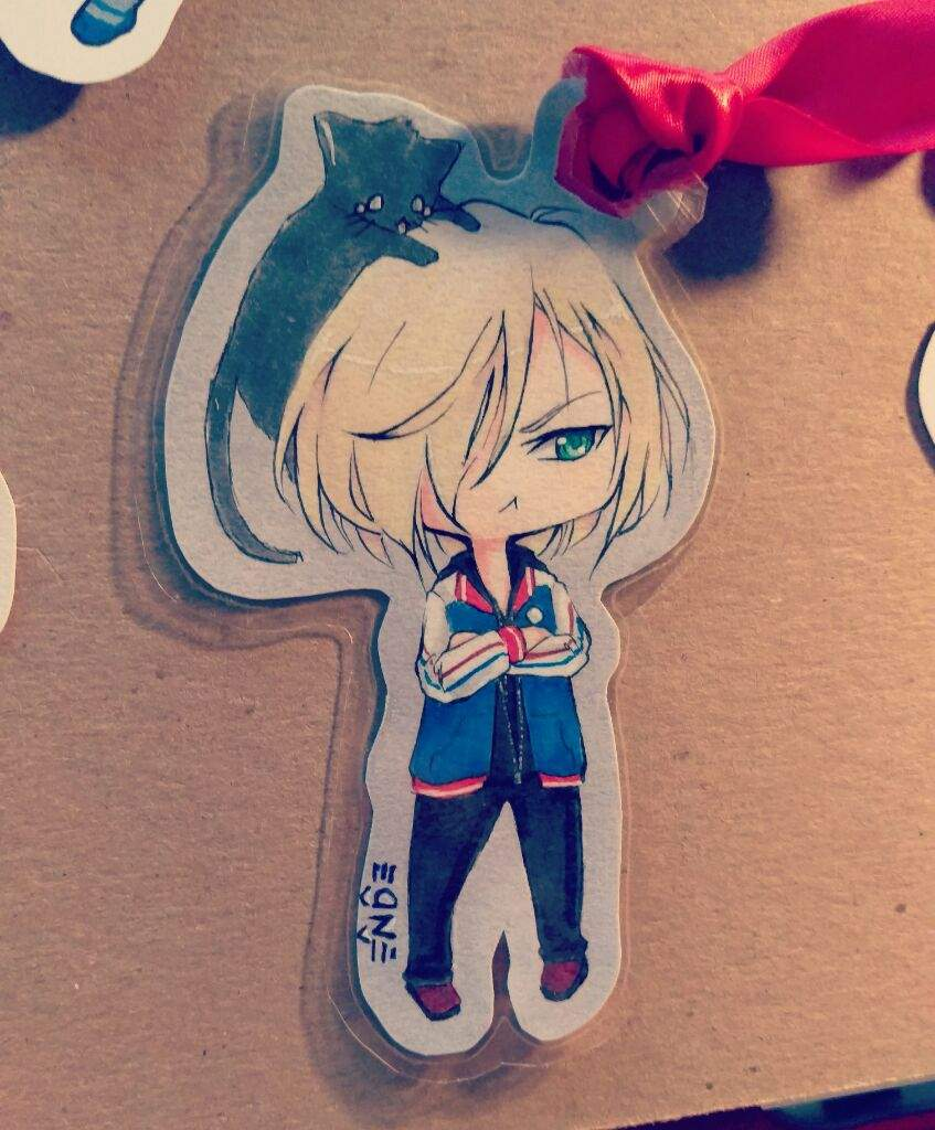 You Have A Little Chibi Cutout Or Bookmark Of Your Very Own