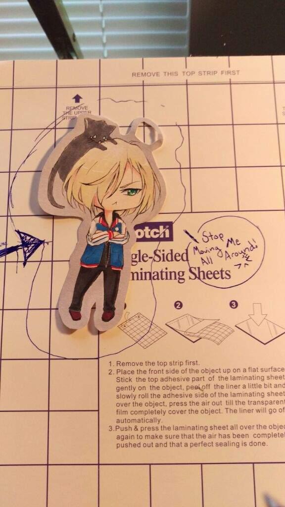 Tutorial Tuesday Chibi Cutouts Bookmark Ft Yurio Anime