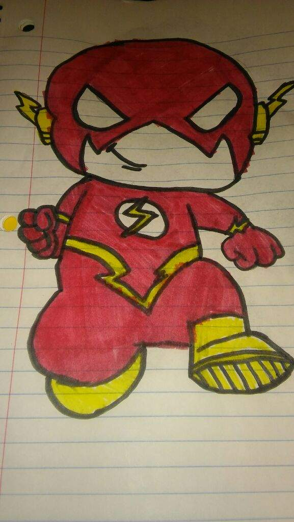 Zoom And Flash Chibi Drawings Teen Titans Amino