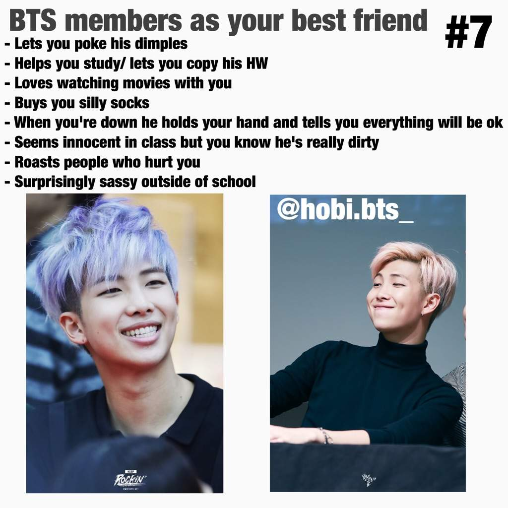 BTS members as your best friend #7 | ARMY's Amino