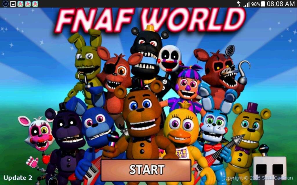 dan fnaf world