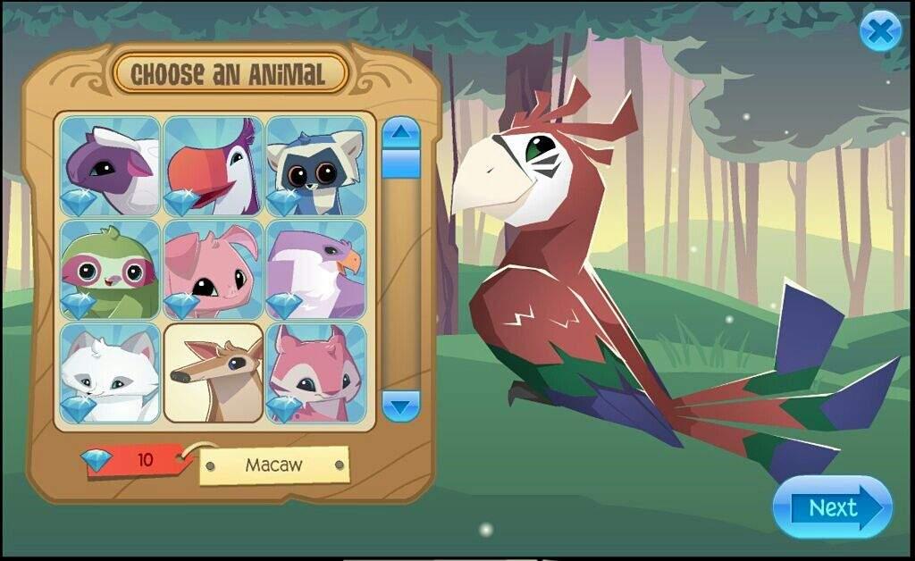 Macaw Edit D Aj Amino Amino