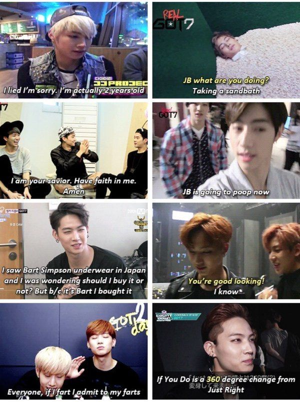 Got7 Funny Moments & Pictures | GOT7 Amino