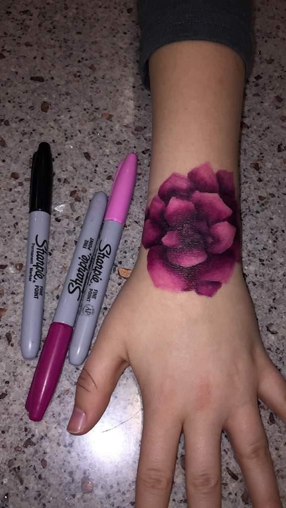 Sharpie Tattoo Art Amino