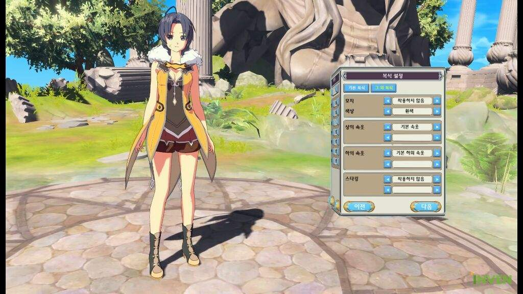 Example Of Character Creation