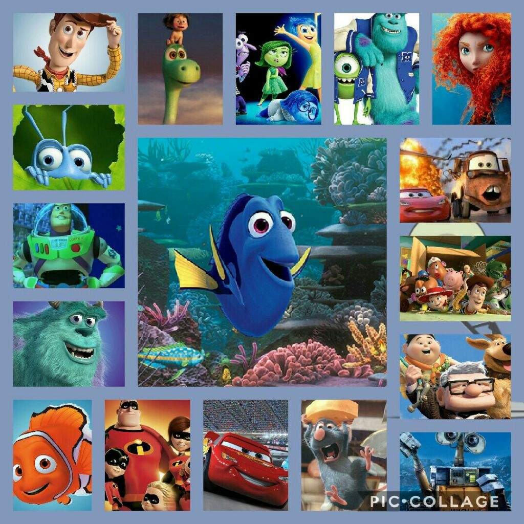 Pixar Cartoons: a list of the most famous tapes of the studio 69