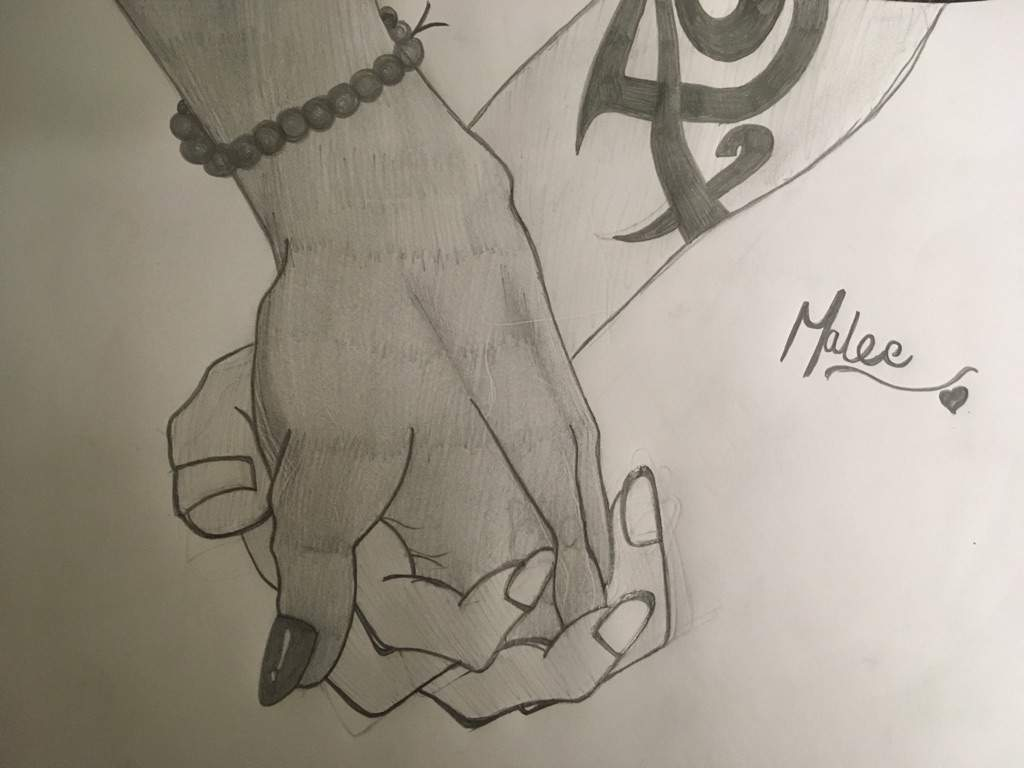 Line Drawing Holding Hands : Malec holding hands amino